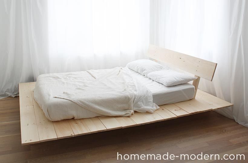 Beautiful Homemade Bed Frame  Inspiration