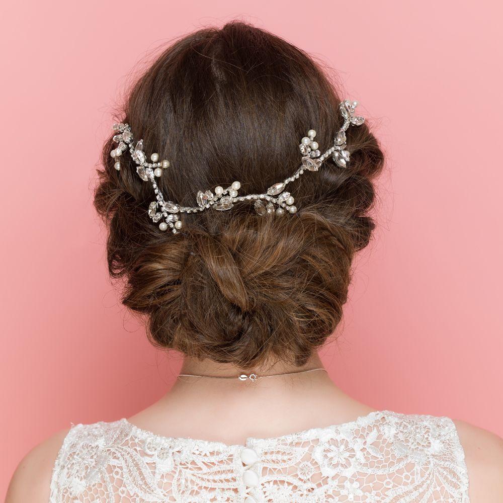 rufford | hair & beauty | bridal hair vine, hair chains