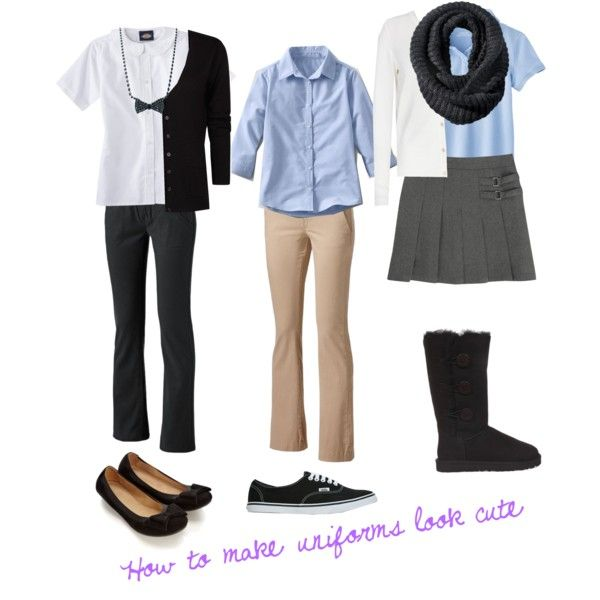 how to look more attractive in school uniform