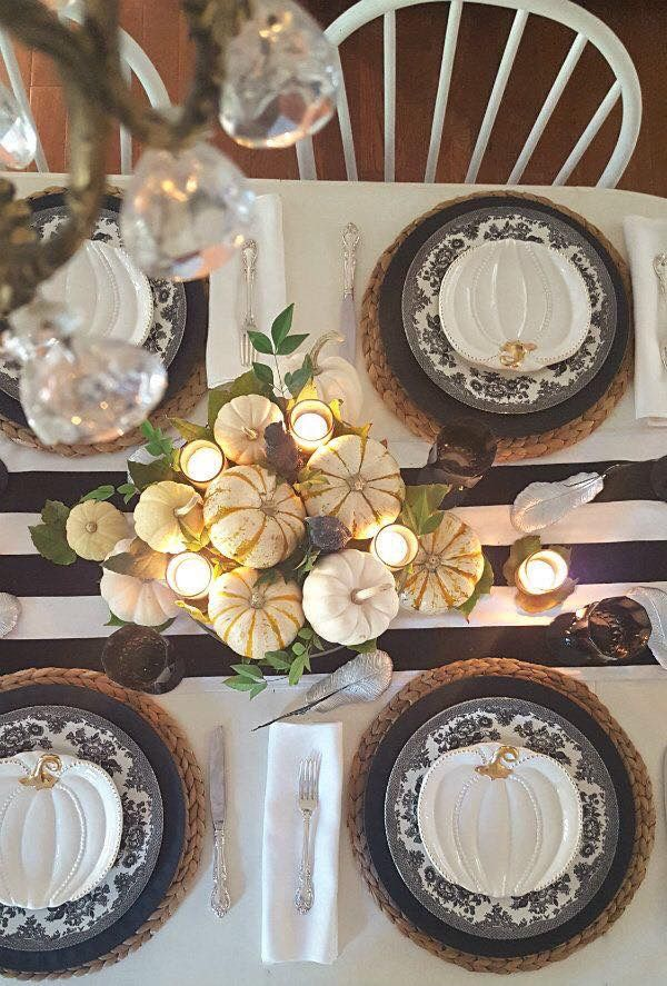 ciaonewportbeachblogspot/ living Pinterest - halloween table setting ideas