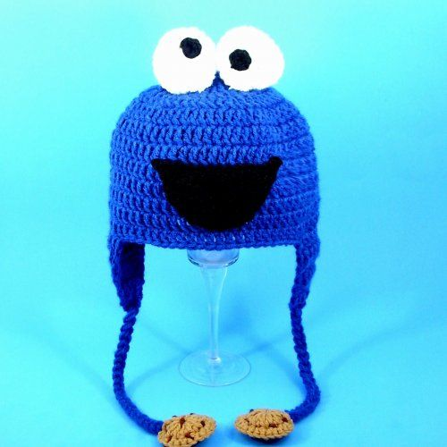 8c232edaba0 Cookie Monster Earflap Hat from Sesame Street