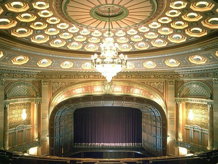 Here is what the Stanley Theater looks like inside... Its