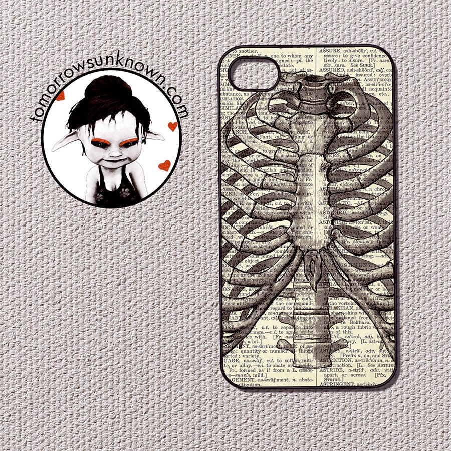 Anatomy Ribcage - iPhone 4 and iPhone 4s case, iPhone 4 and 4s cover ...
