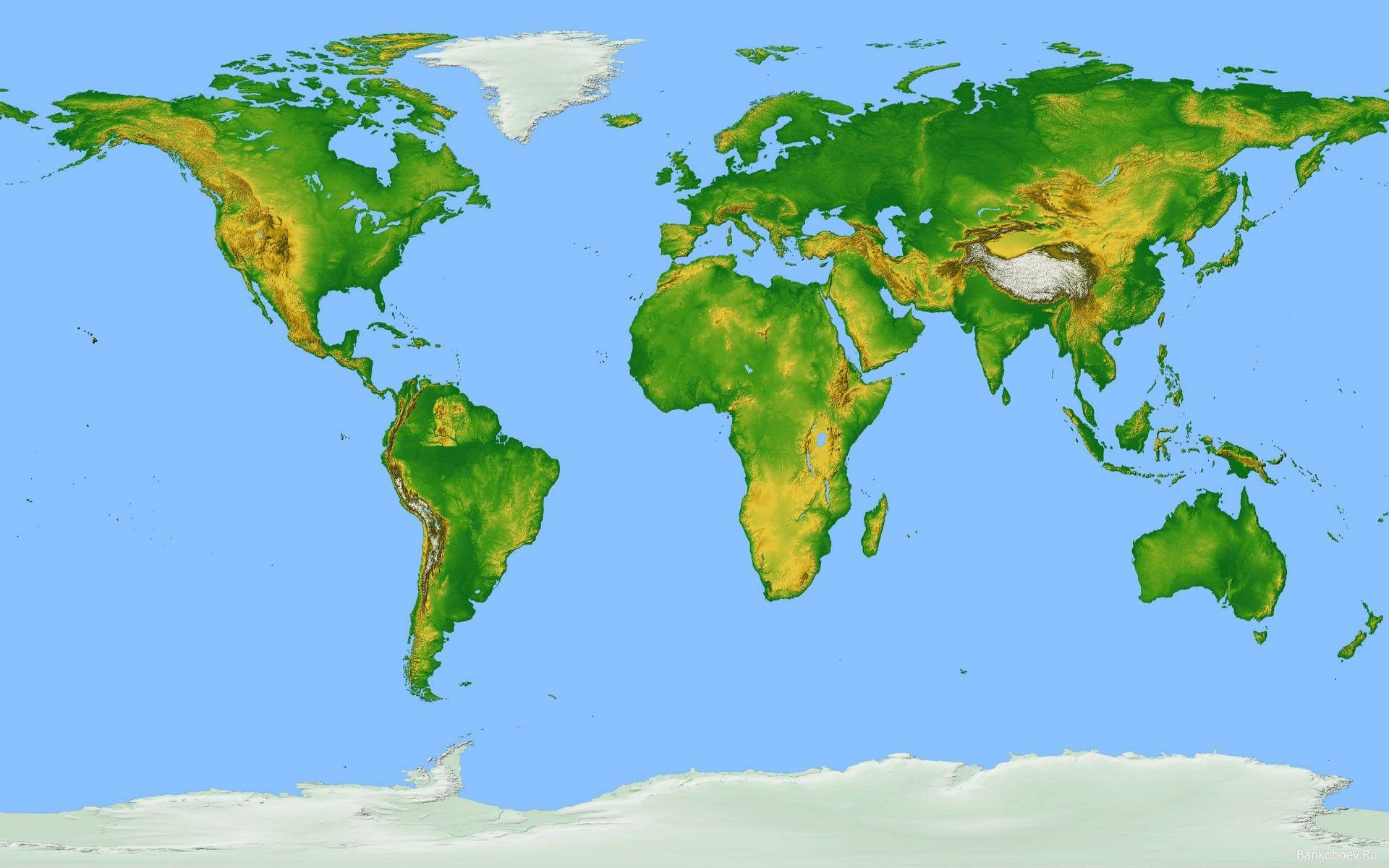 World Map Geographical World Map Physical Worldmap