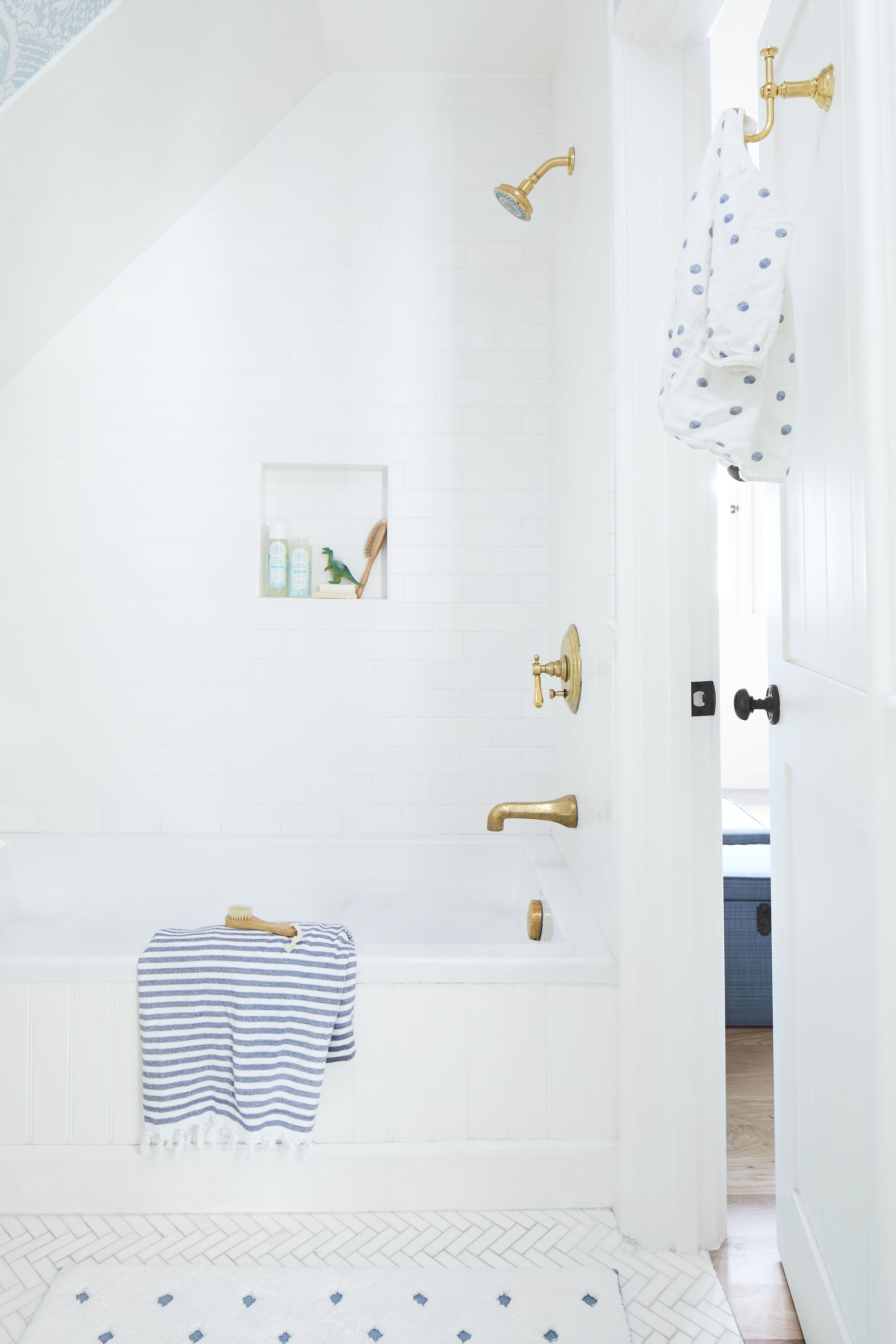Our Kid's Jack and Jill Bathroom Reveal + Shop The Look - Emily Henderson