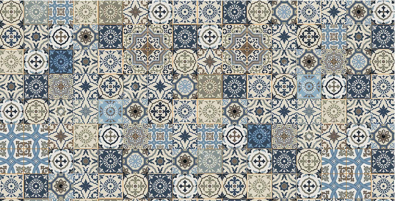 Kajaria Glazed Porcelain Tiles Moroccon Tile Accents Moroccon