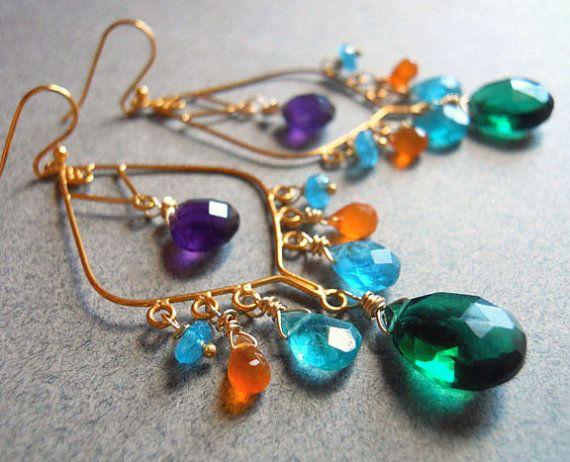 Summer Girl Chandelier Earrings https://www.etsy.com/listing/97463457/summer-girl-chandelier-earrings-sale-20 etsy
