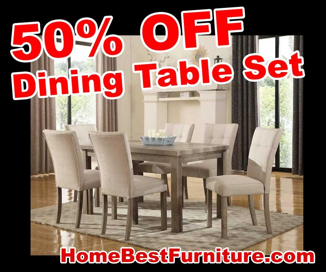 Sale 50% Off Discount Handley 7Piece Dining Room Sets  Home Best Dining Room Tables For Sale Cheap 2018