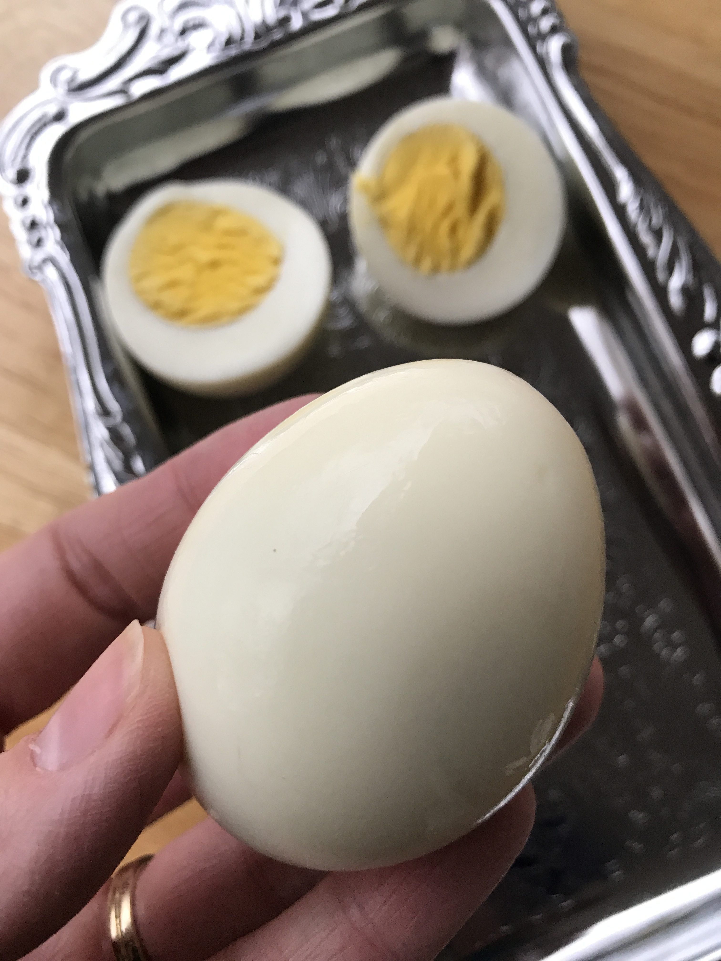 How To Hard Boil Eggs In An Instant Pot Recipe Perfect Hard
