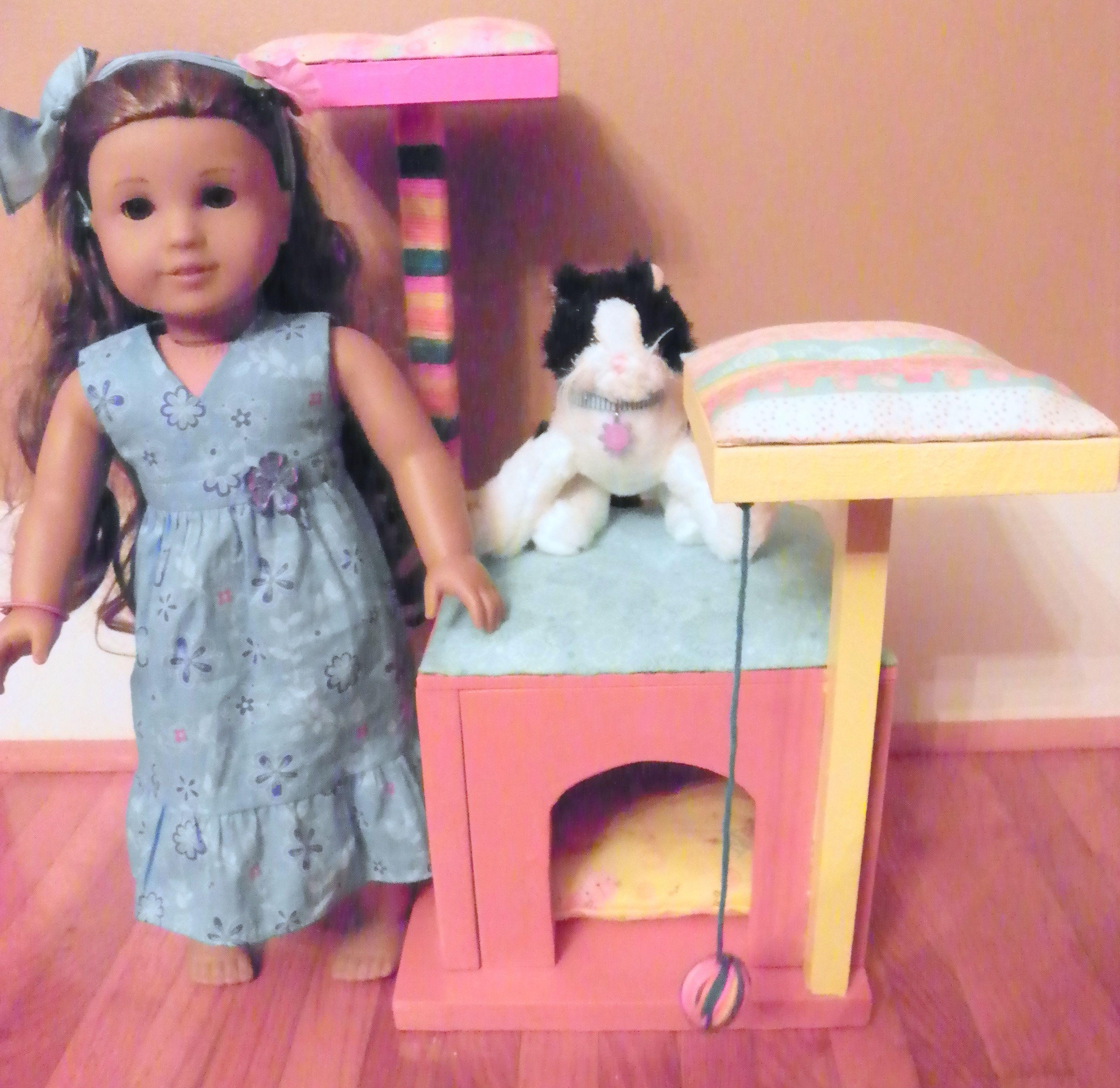 American Girl cat condo