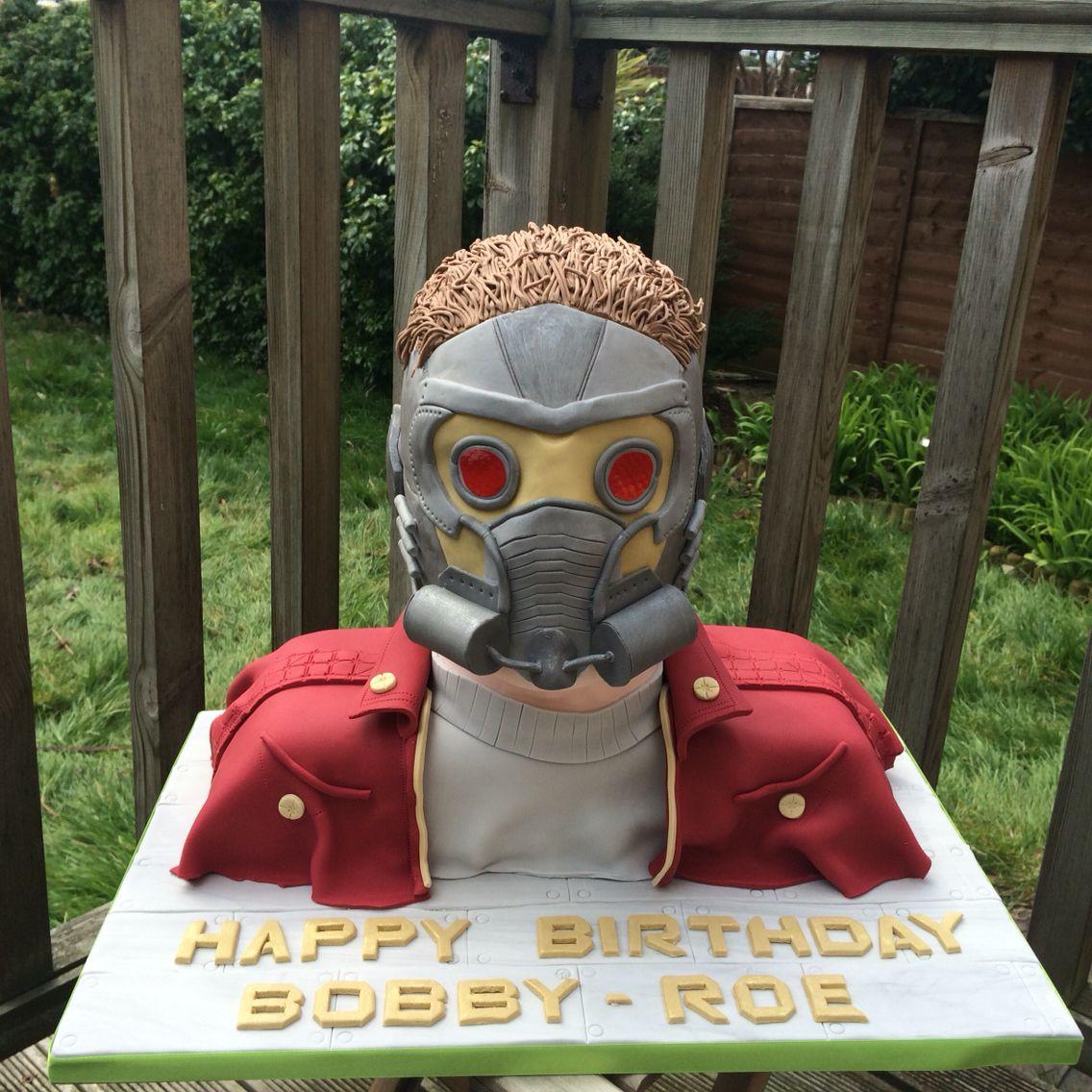Starlord Birthday Cake