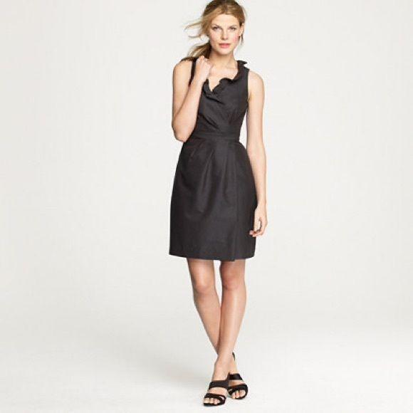 Black jcrew cocktail dress
