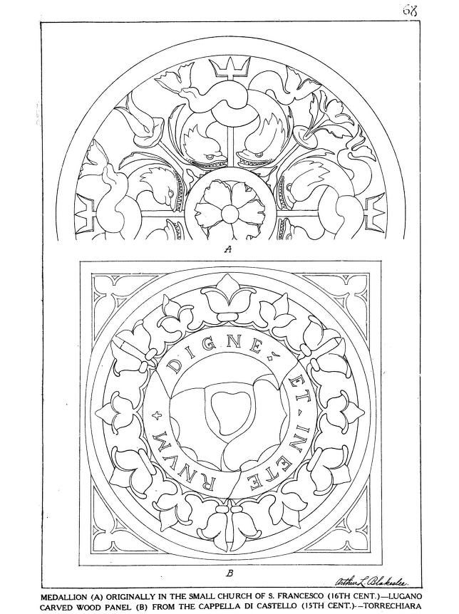 Ornamental details of the Italian Renaissance 1920