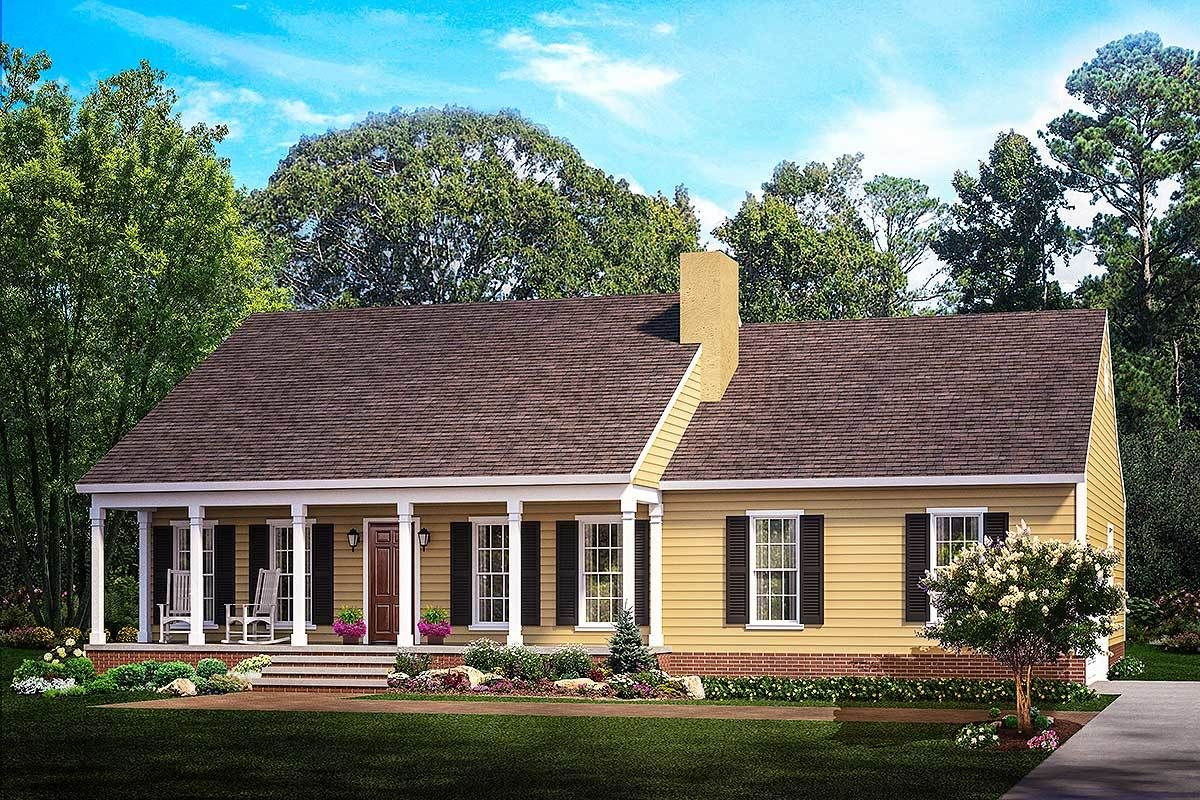 Plan 62099V: Split Bedroom Country Ranch | Floor plans | House plans on small country mansion, small old house, small country farm, small country duplex, small country chapel, small country church, small country home, small country barn, small french house, small country apartment building,