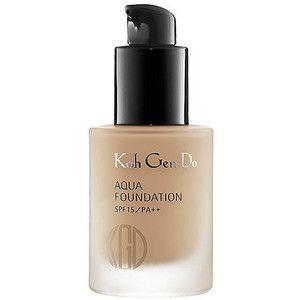 Best Natural Foundation Koh Gen Do Aqua Foundation Review Living Pretty Naturally Natural Foundation Beauty Beauty Hacks
