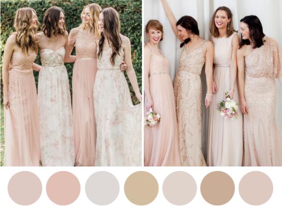 Tendencias y colores para las damas de tu boda   Colores vibrante ...