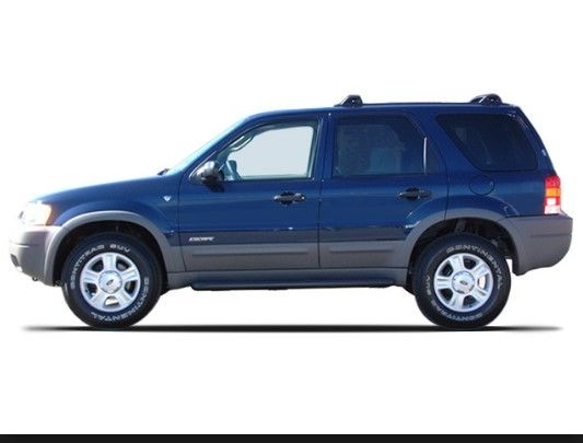 2003 Ford Escape Owners Manual Ford Escape Ford Crossover Suv