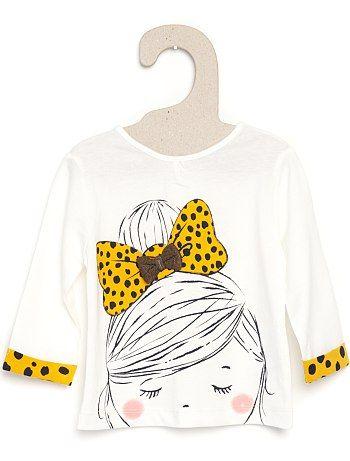 vasta gamma 50% di sconto aspetto dettagliato Maglietta bambina #KIABI | Kids☆ | Abbigliamento, Fiocchi neonato ...