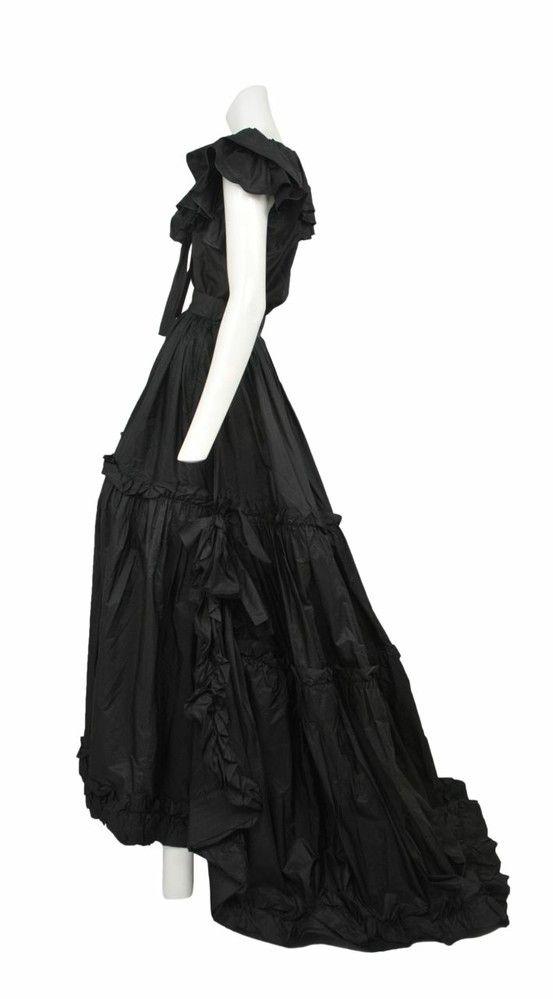 Vintage Yves Saint Laurent Taffeta Evening Ensemble Resurrection Vintage Ysl Fashion Vintage Fashion Vintage Costumes