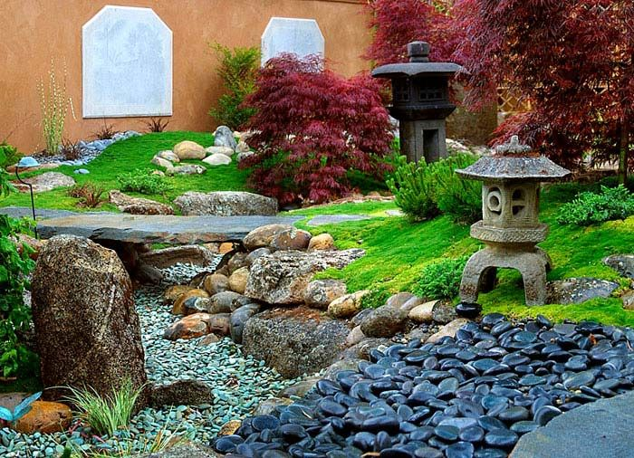 Great Zen Gardens U0026 Asian Garden Ideas (68 Images)   InteriorZine