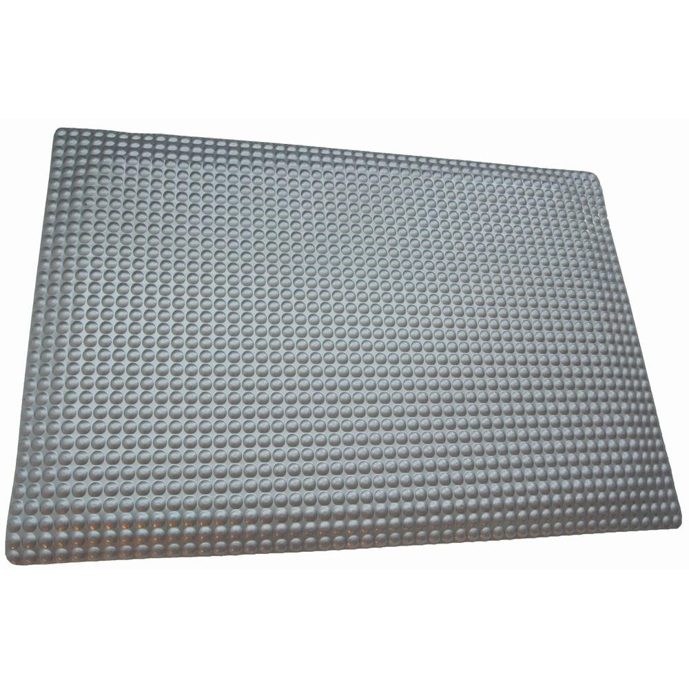Rhino Anti Fatigue Mats Reflex Metallic Domed Surface 24 In X 36