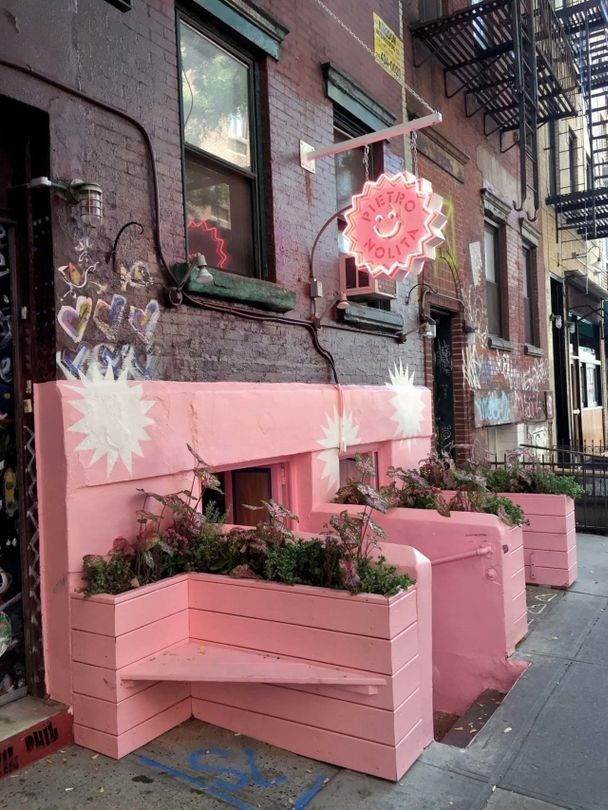 Look inside an entirely pink restaurant in New York City Vogue - new 10 restaurant financial statement