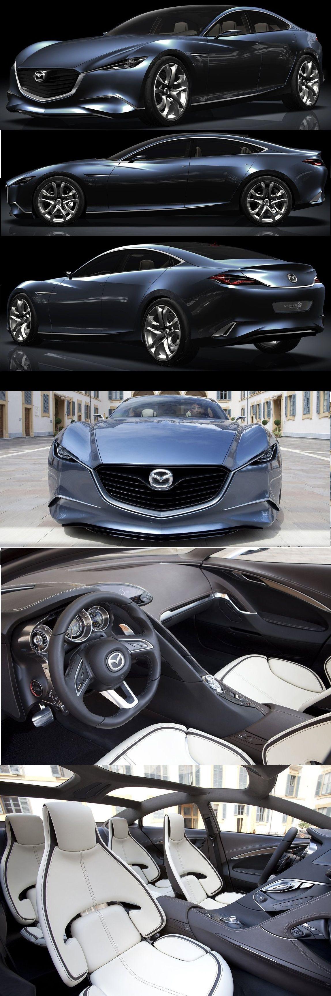 Mazda Shinari Concept (2010)   Mazda Classics & Concepts   Pinterest ...