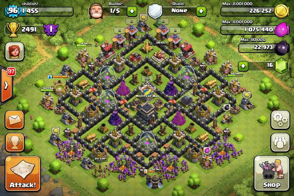 town hall level 9 bases google search cool stuff town hall