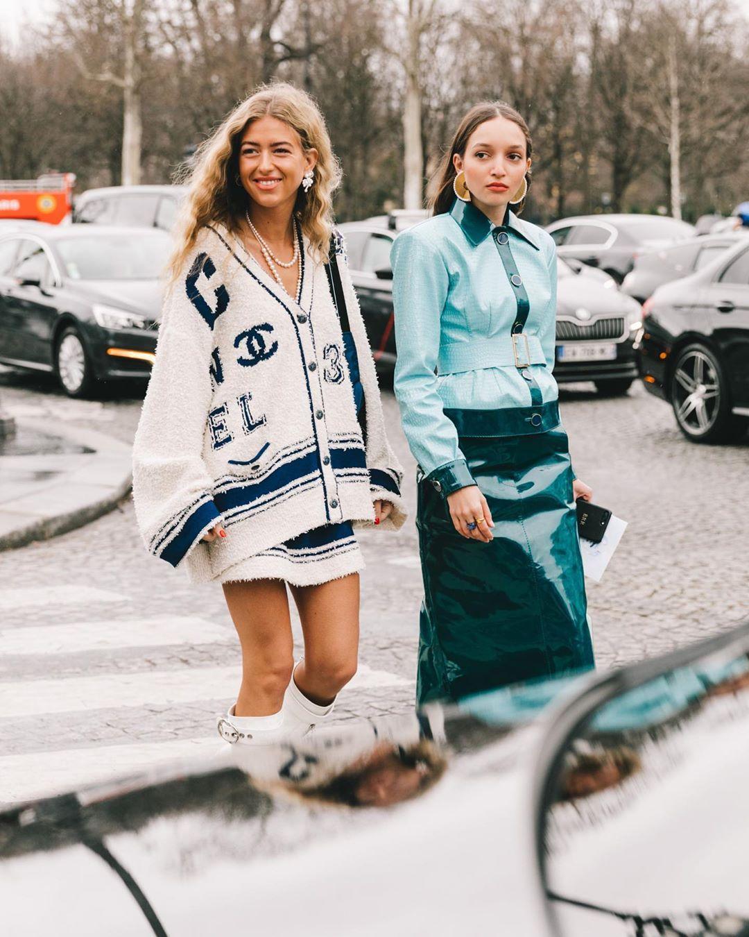 "Stylesight Spotlight® on Instagram: ""#StreetStyle Highlights ""pfw2019"" — #Style by @emilisindlev w/ @chanelofficial look from #Paris Fashion Week: @parisfashionweek credit to…"""