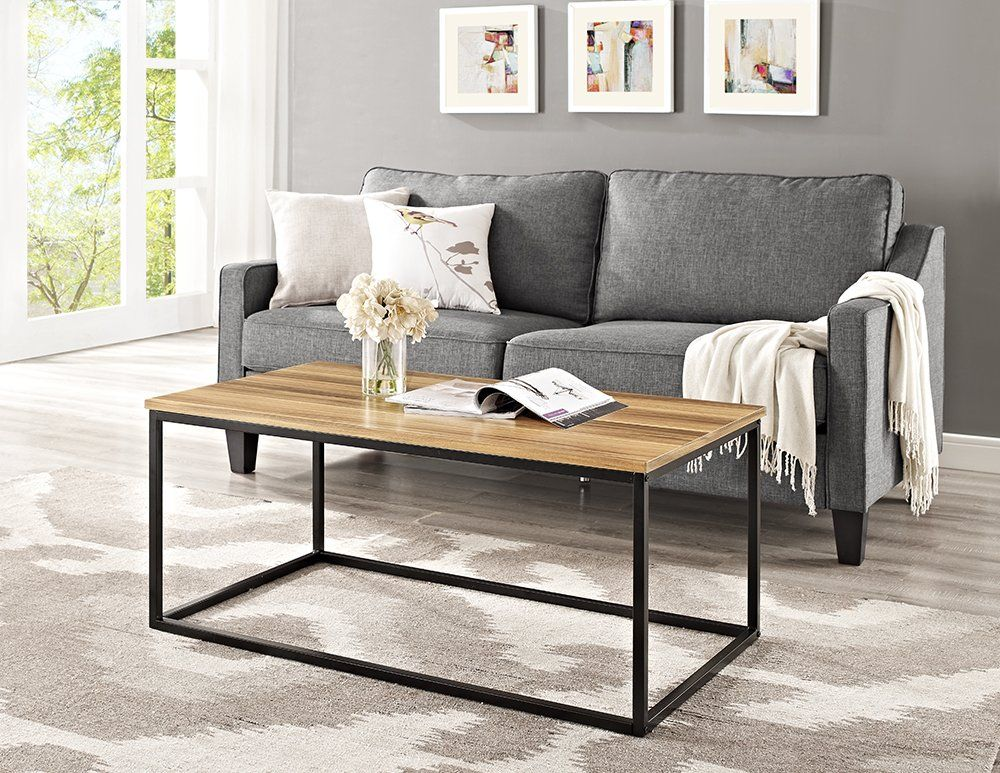 This Contemporary Coffee Table Is The Perfect Addition To Any