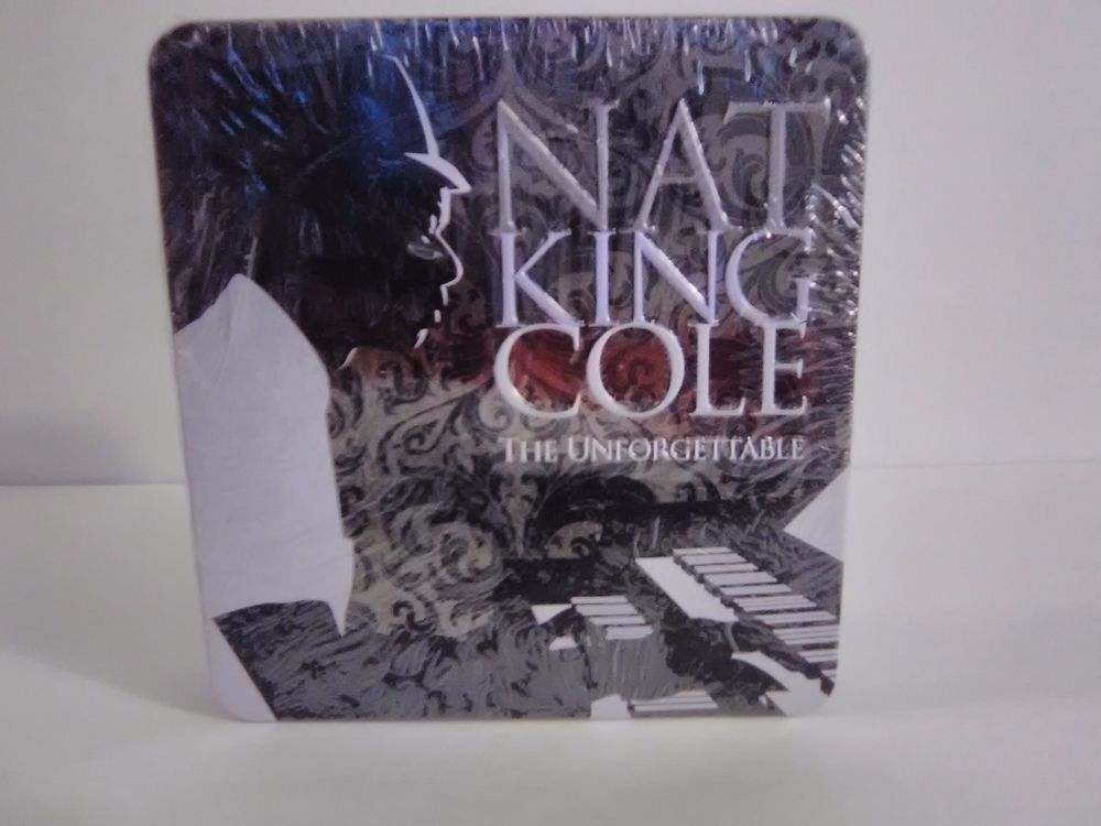 Nat King Cole Unforgettable 16 TRACKS Collectors CD SET 2007 BRAND NEW  #TraditionalVocal