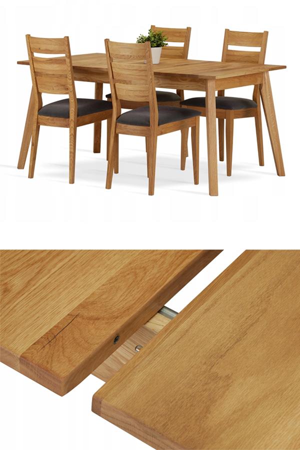 Stol Rozkladany Clifton Lite Drewno Debowe 140 Cm Home Decor Decor Table