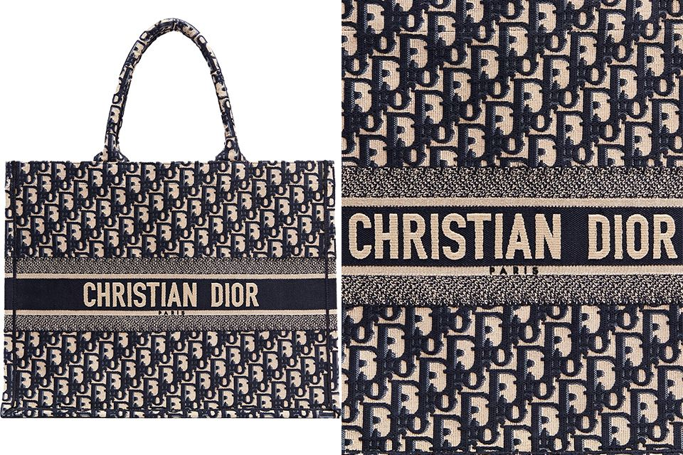 74c51f922 So will the Dior Oblique become the next iconic print? We are wondering,  but until then, please take a look at another new Tote – the Dior Book Tote  Bag