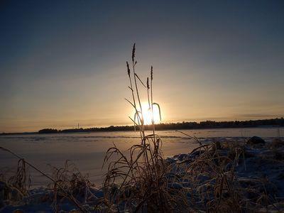 Perfect shot from Tornio, Lapland Finland by Pirkko Siukonen
