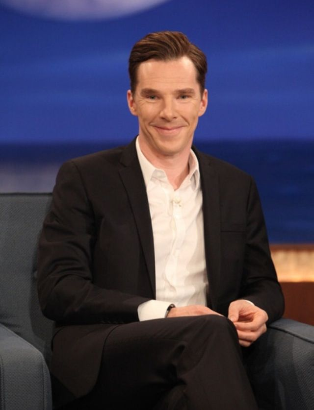 You can't resist his smile any day, right?   Benedict ...