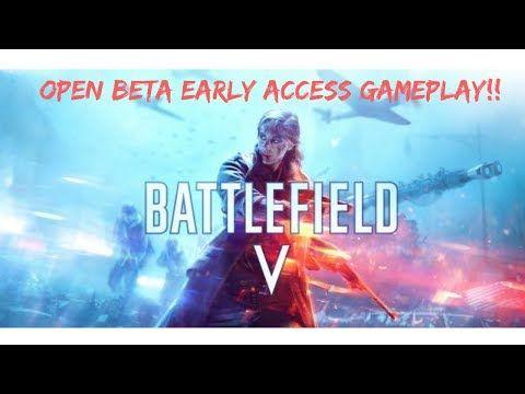 battlefield v open beta release date