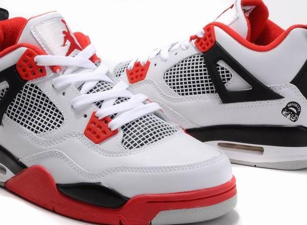 Air Jordan 4 Retro Mars Blackmon White Black Varsity Red