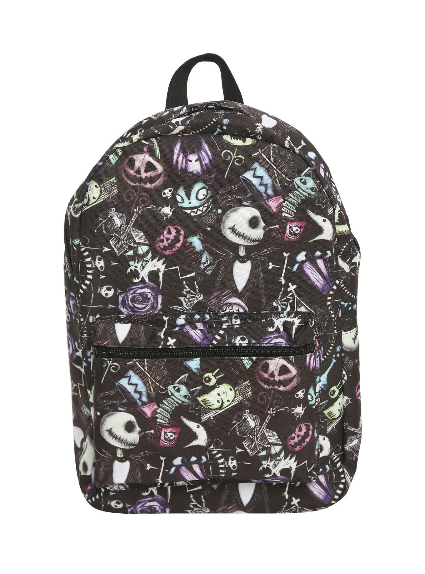 The Nightmare Before Christmas Sketch Character Backpack | Backpacks ...