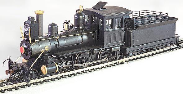 Bachmann Baldwin Inside Frame 4-4-0 in On30 | model railroad | Steam on