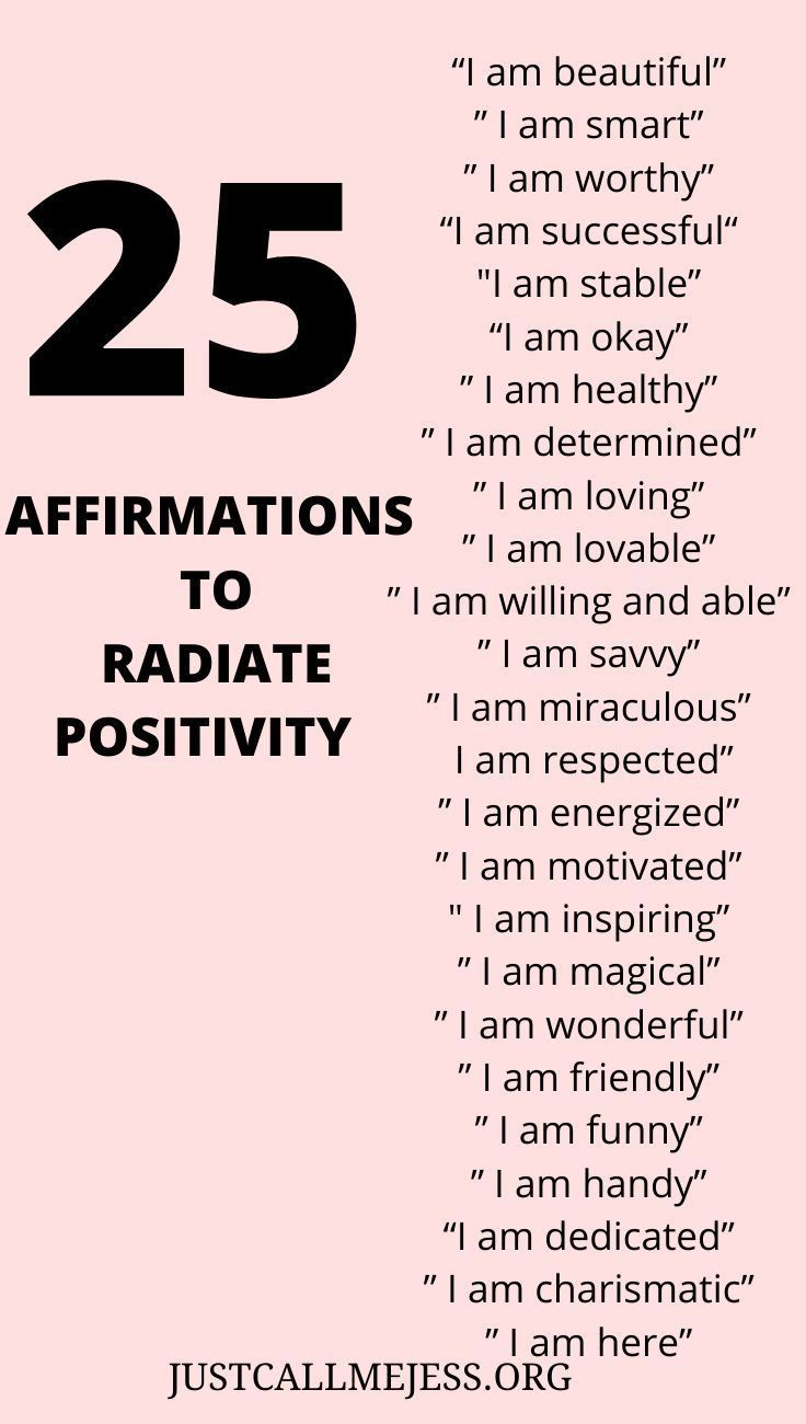 Be Affirmative In Your Self-Love