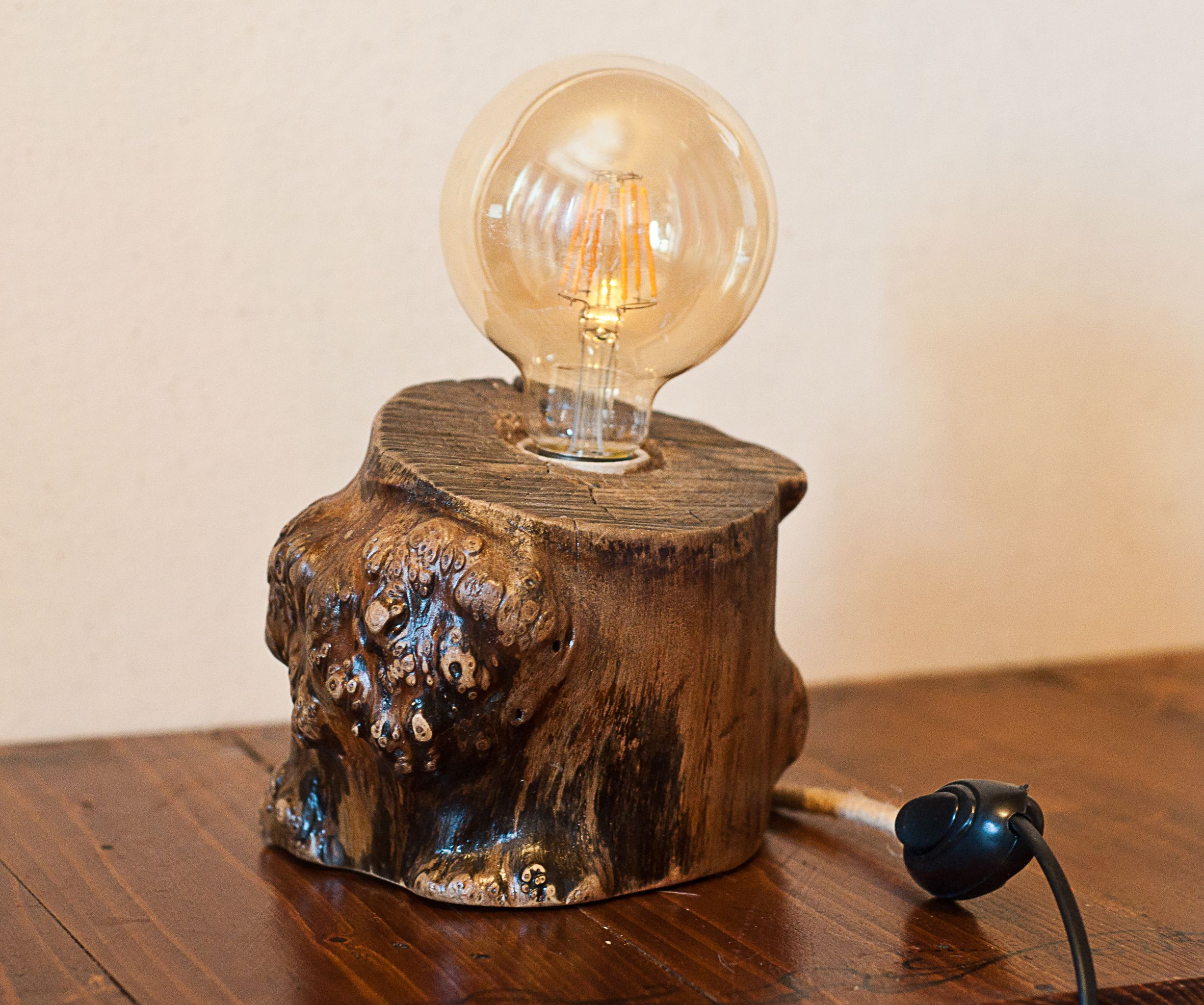 Wooden Log Lamp Best Of Etsy Etsy Group 5 Pins Limit Per  # Muebles Dico Power Center