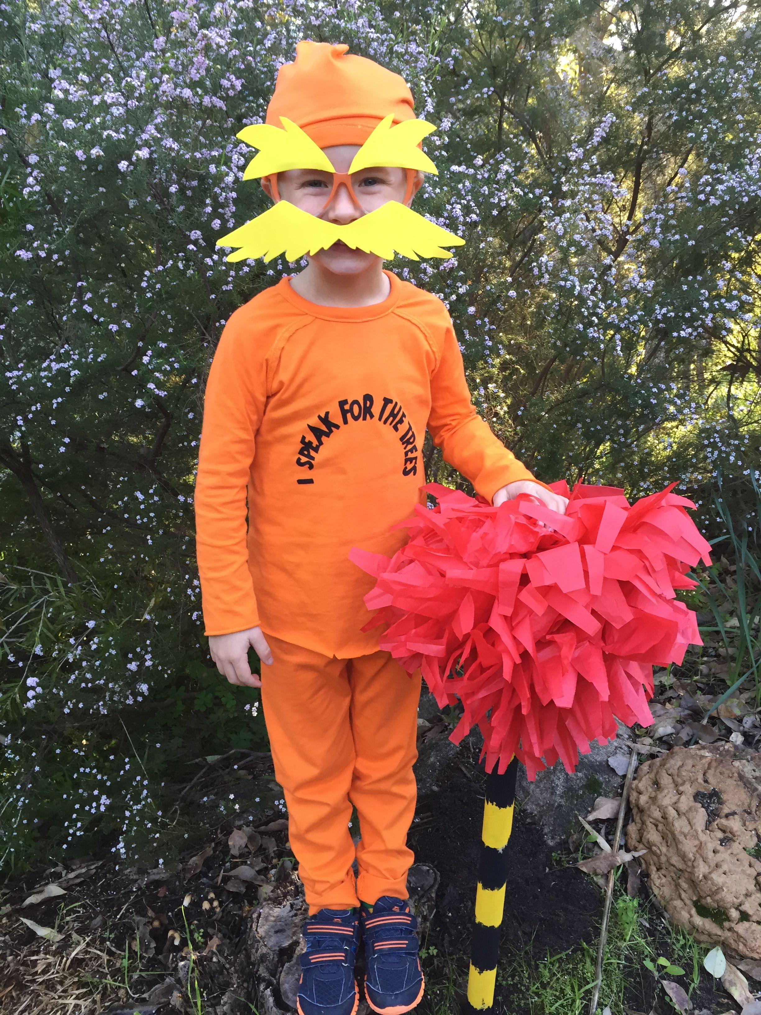 The Lorax Costume For Bookweek Thelorax Storybook Character Costumes Kids Book Character Costumes Easy Book Week Costumes