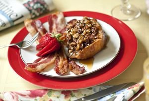 Baked French Toast - Crimson Cottage Inn Bed & Breakfast