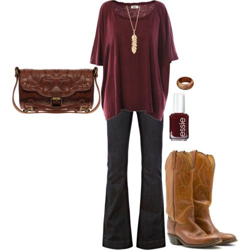game day style... Maroon!