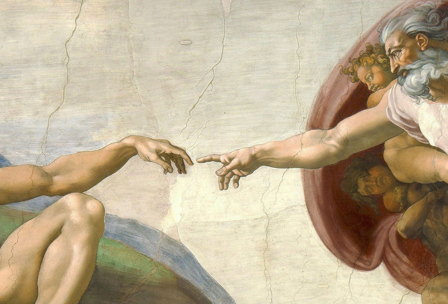 Detail Of The Sistine Chapel Ceiling By Michelangelo In 2019