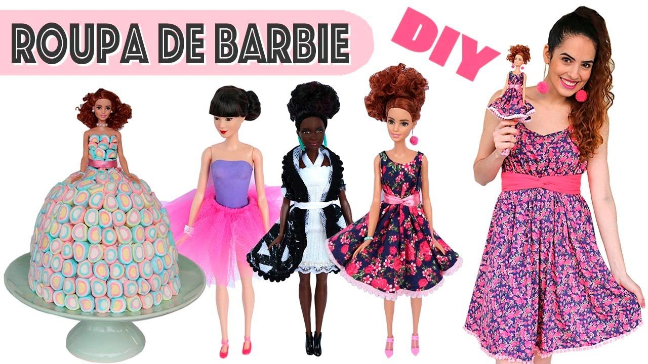 Dress for Barbie doll do it yourself