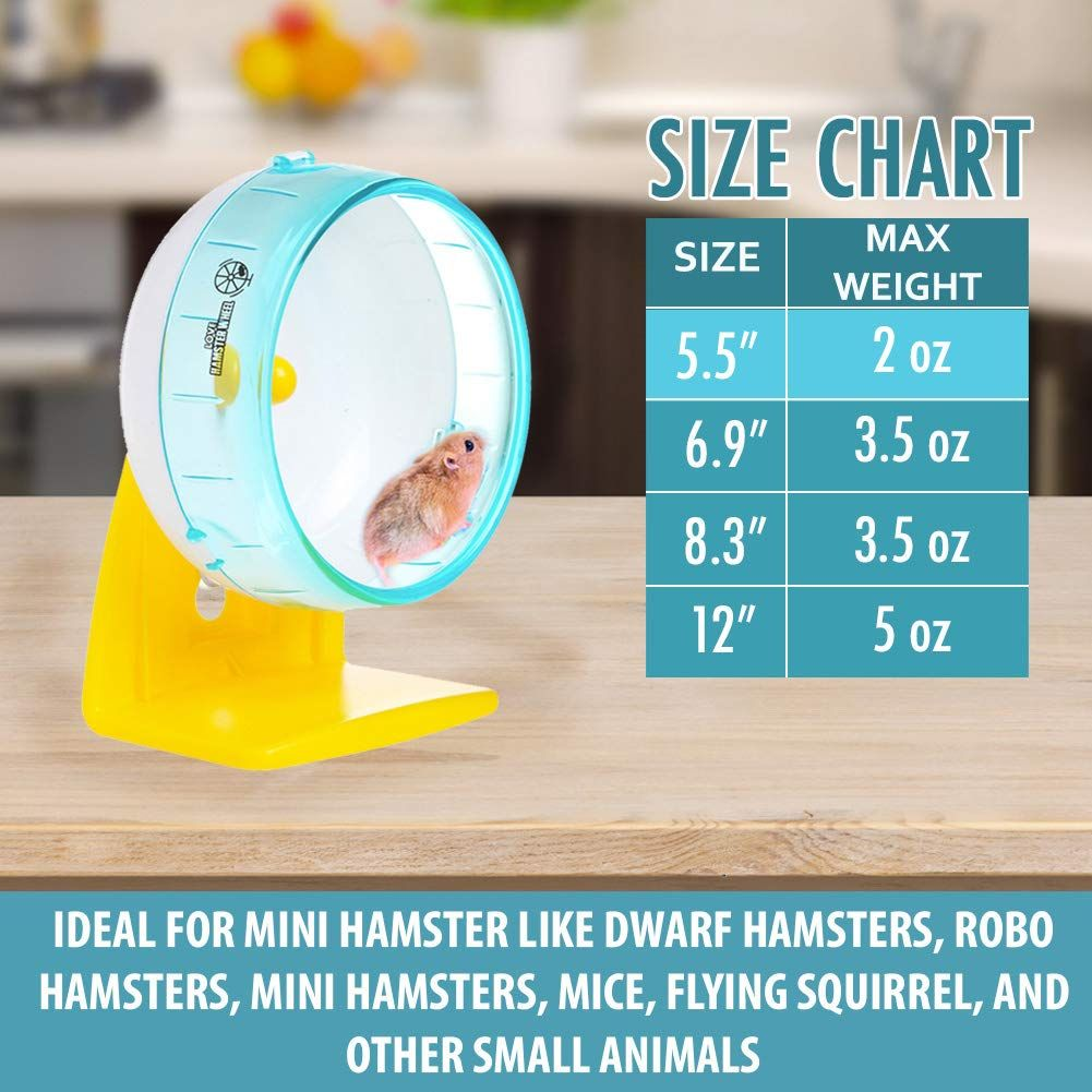 Wodent Wheel Sugar Glider Hamster 11 Diameter Yellow With Brown Panels 12 3 Total Ht Find Out More By Seeing The I In 2020 Sugar Glider Exercise Wheel Small Pets