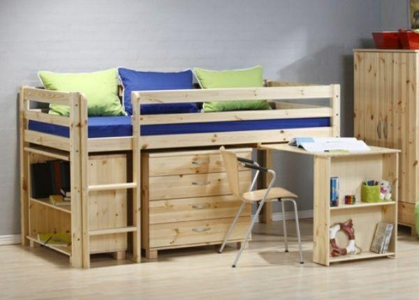 Etagenbett Baby : Hochbett im kinderzimmer 100 coole etagenbetten für kinder home