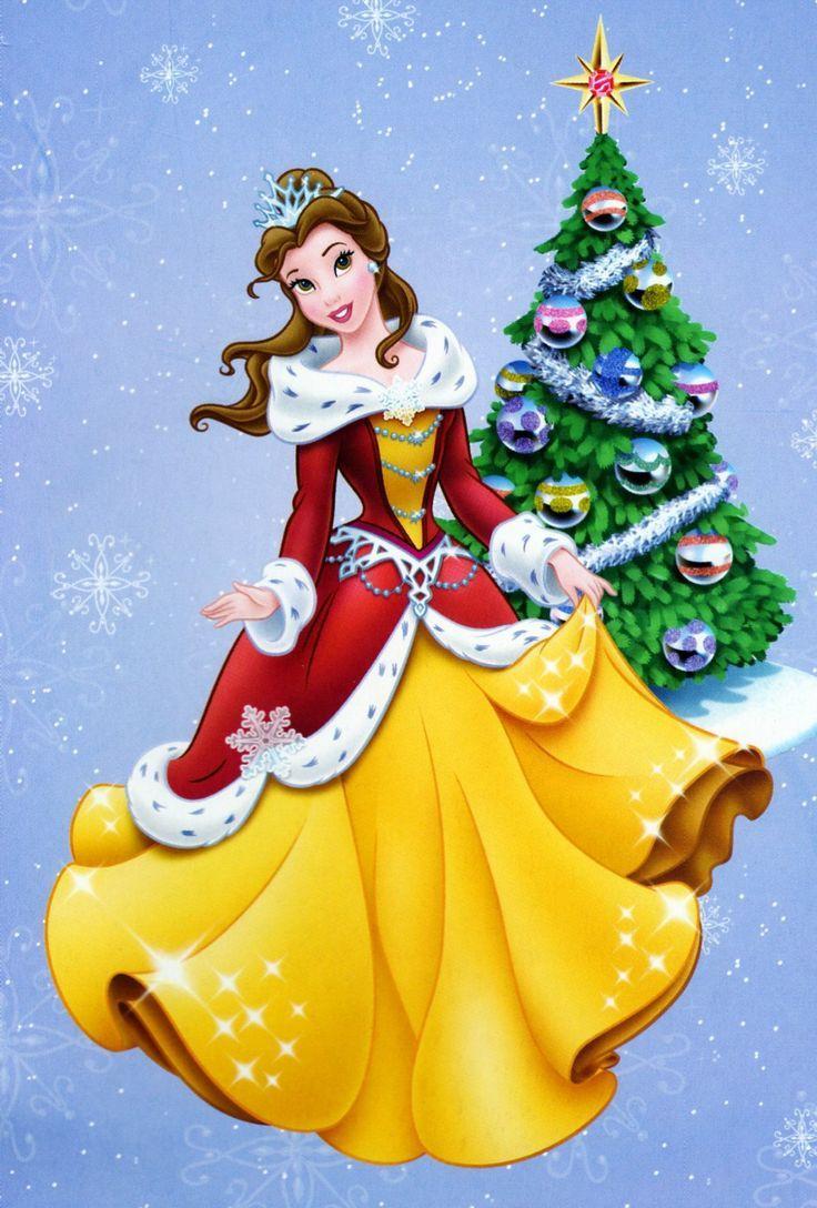 Christmas Belle Disney Christmas Disney Merry Christmas Belle Disney