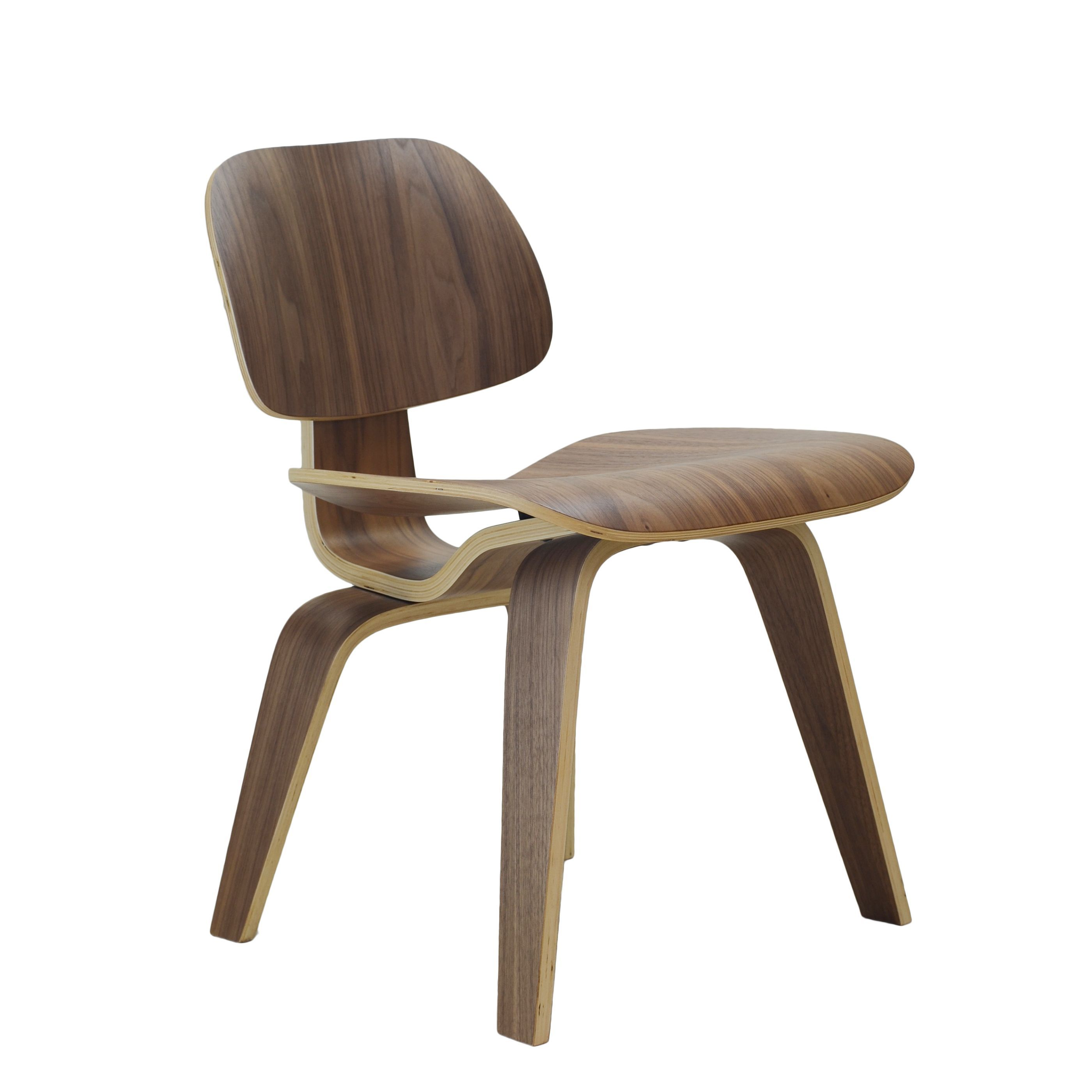Design Tree Home Dining Chair Wood (Walnut), Brown | Woods, Outlet ...